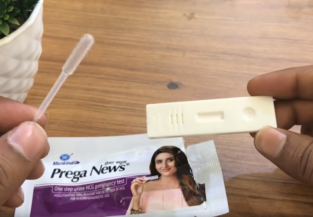 Image of Pregnancy Test Kit at Home