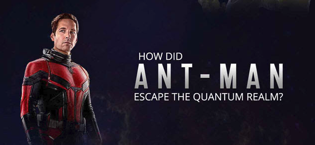 how did ANT MAN escape the quantum realm image