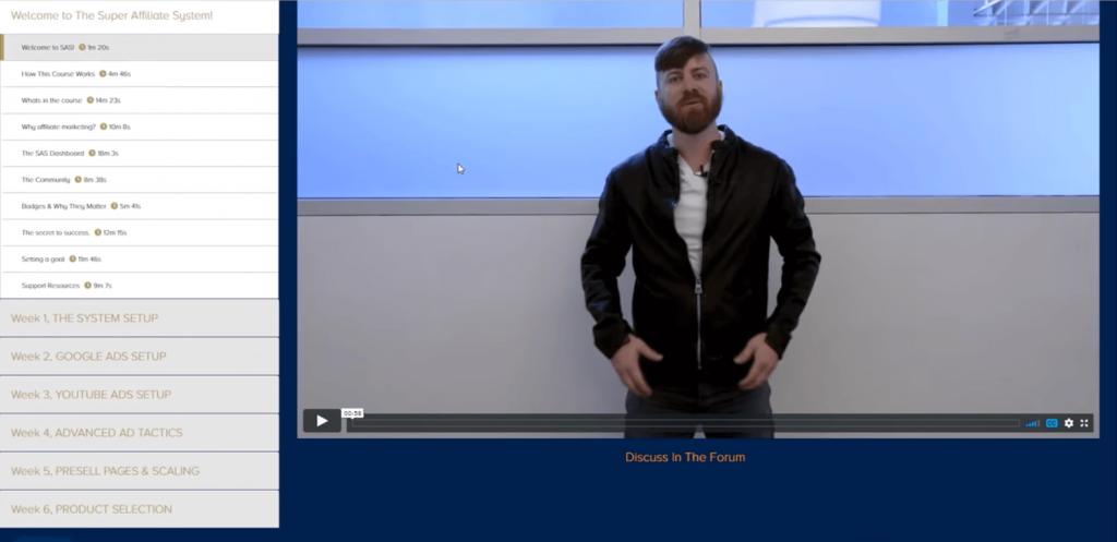 Super affiliate system - John crestani autowebinar funnel
