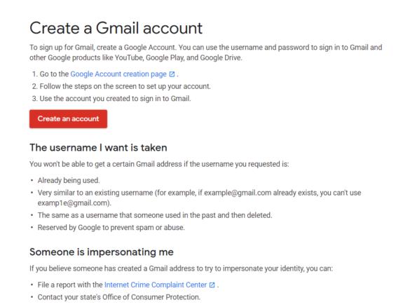 Create email: जीमेल पर ईमेल आईडी बनाएं