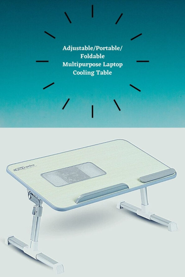 Adjustable_Portable_Foldable Multipurpose Laptop Cooling Table