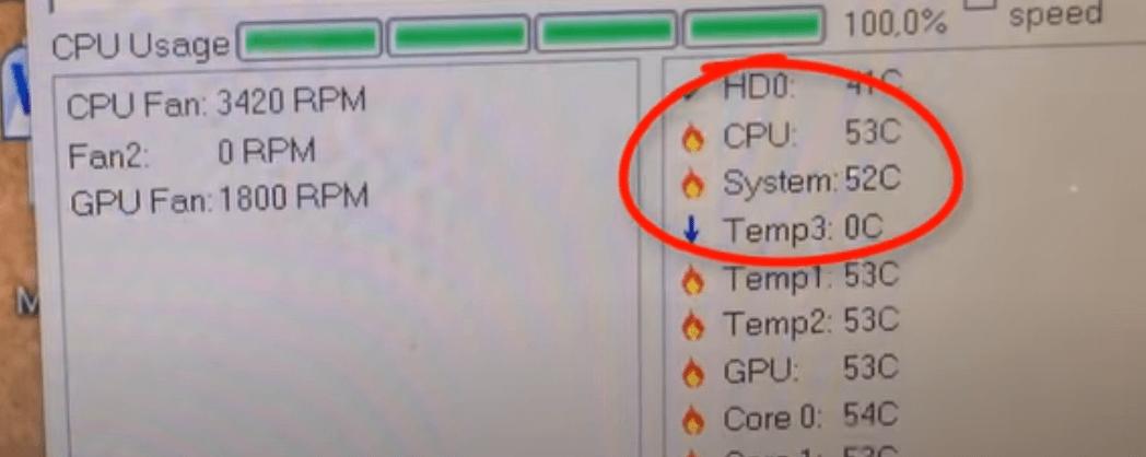 CPU temp after water cooler plugin